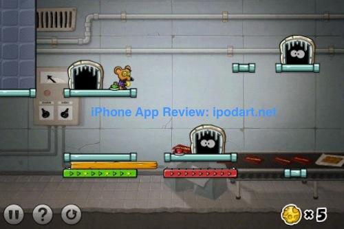 아이폰 퍼즐 게임 캐치캐치마우스