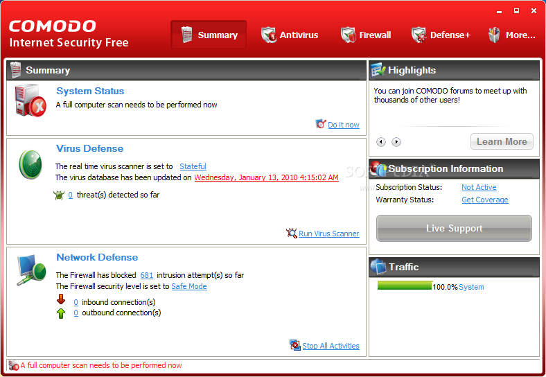 COMODO Internet Security 4.0