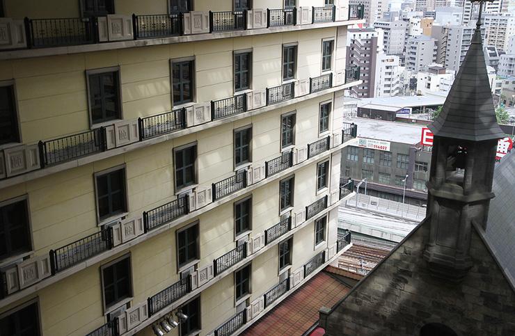 유럽의 작은 호텔에 온 기분, 몬트레이 오사카 호텔 (오사카 추천 호텔~~ )