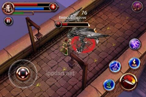 아이폰 아이팟터치 강력추천게임 Dungeon Hunter
