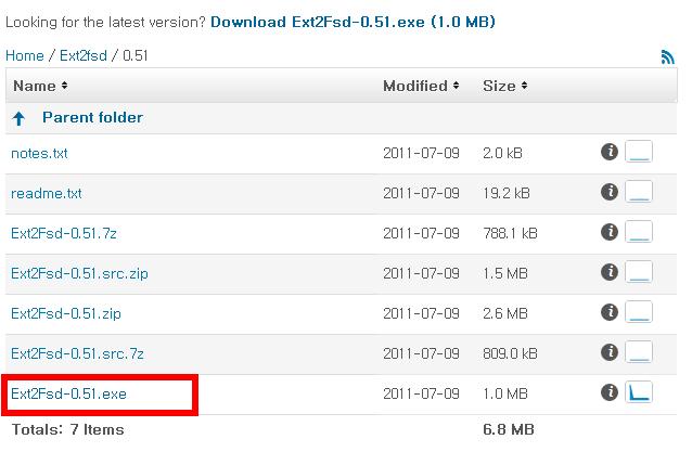 ext2fsd 0.51