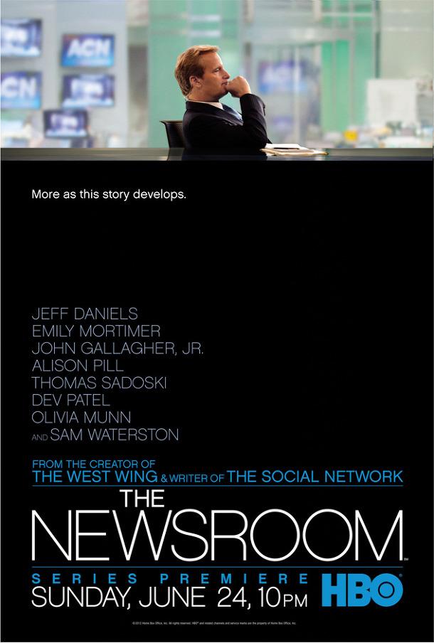 뉴스룸 - 포스터