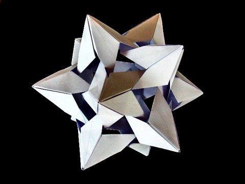별 모양 삼십면체 (Miyuki Kawamura) 종이접기 동영상