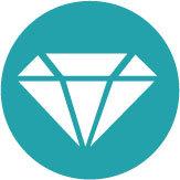다이아몬드구별법입술에대어본다
