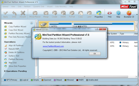 minitool partition wizard professional edition 7.5 crack