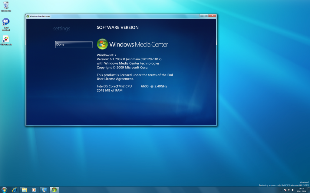 17 Windows 7 Build 7032 Screenshots