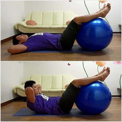 짐볼하나로, 효과적인 허리강화 운동-*
