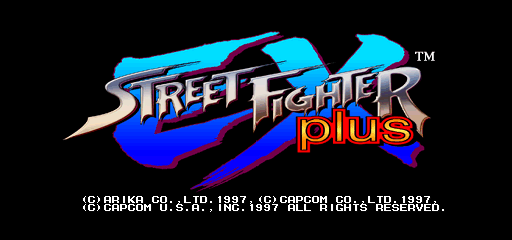 Street Fighter Ex Plus Usa 970407 Mame Info