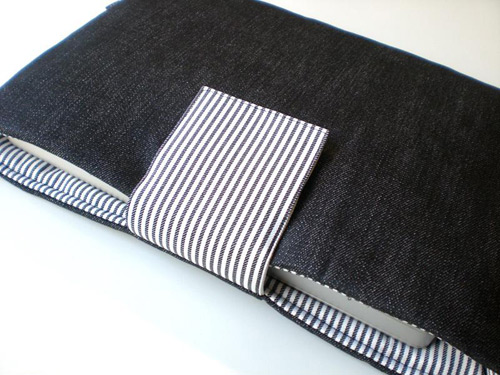 Denim Black Laptop Sleeve