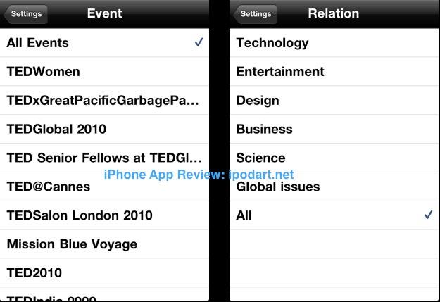 아이폰 공용 강의 TED+SUB