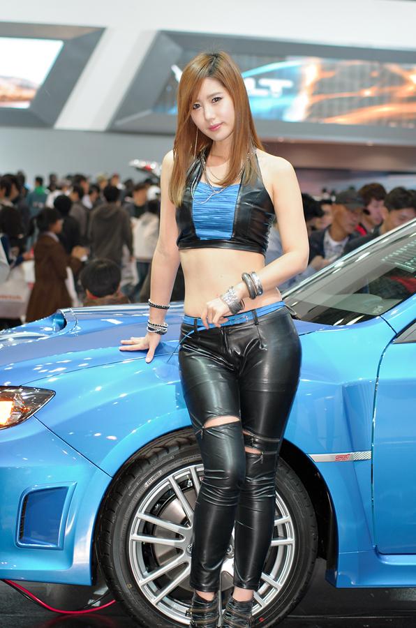 2011 서울 모터쇼 - 송지나, d7000, NIKKOR 70-210 F4, SONY DSLT a65 라이트룸 프로파일 적용, 레이싱 걸, 레이싱 모델, 모델 사진, 사진, 카메라, 타운포토