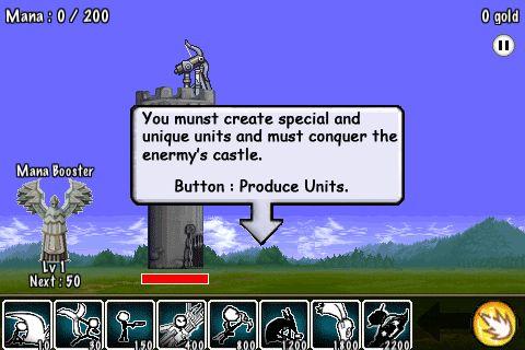 아이팟터치 아이폰 디펜스 실시간 전략 게임 카툰 워즈-Cartoon Wars