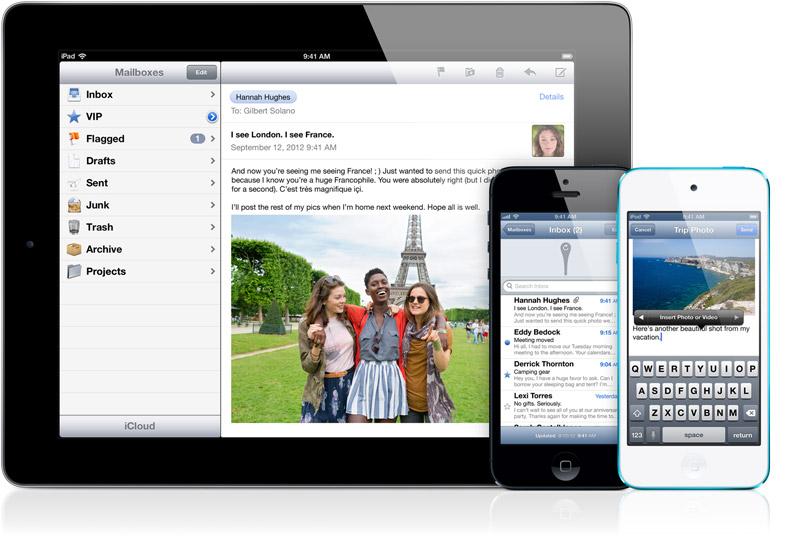 iOS6 메일 mail
