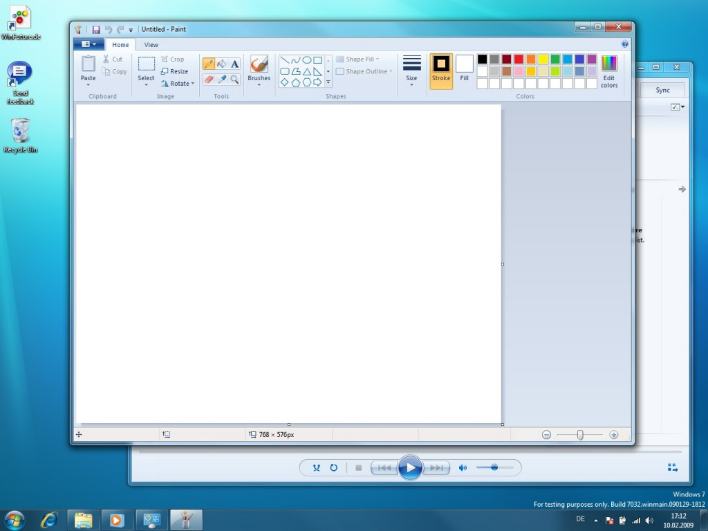 07 Windows 7 Build 7032 Screenshots