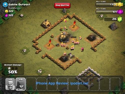 Clash of Clans 전략 전투 게임 아이폰 아이패드