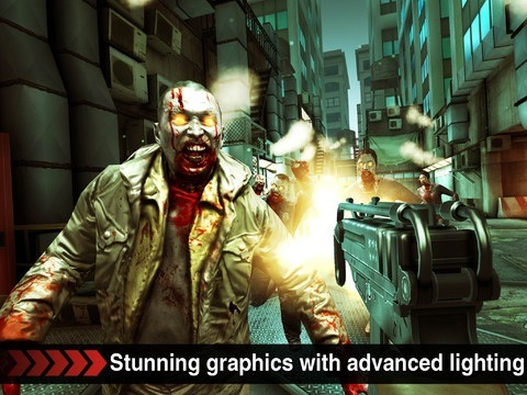 DEAD TRIGGER 아이폰 아이패드 FPS 일인칭 슈팅 게임