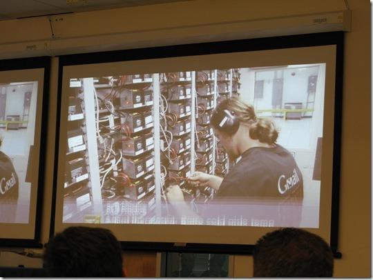 google data center의 서버