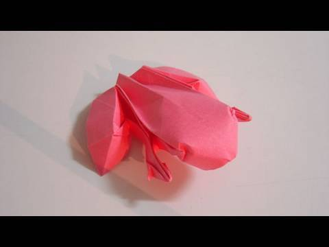 개구리 동물 종이접기 동영상