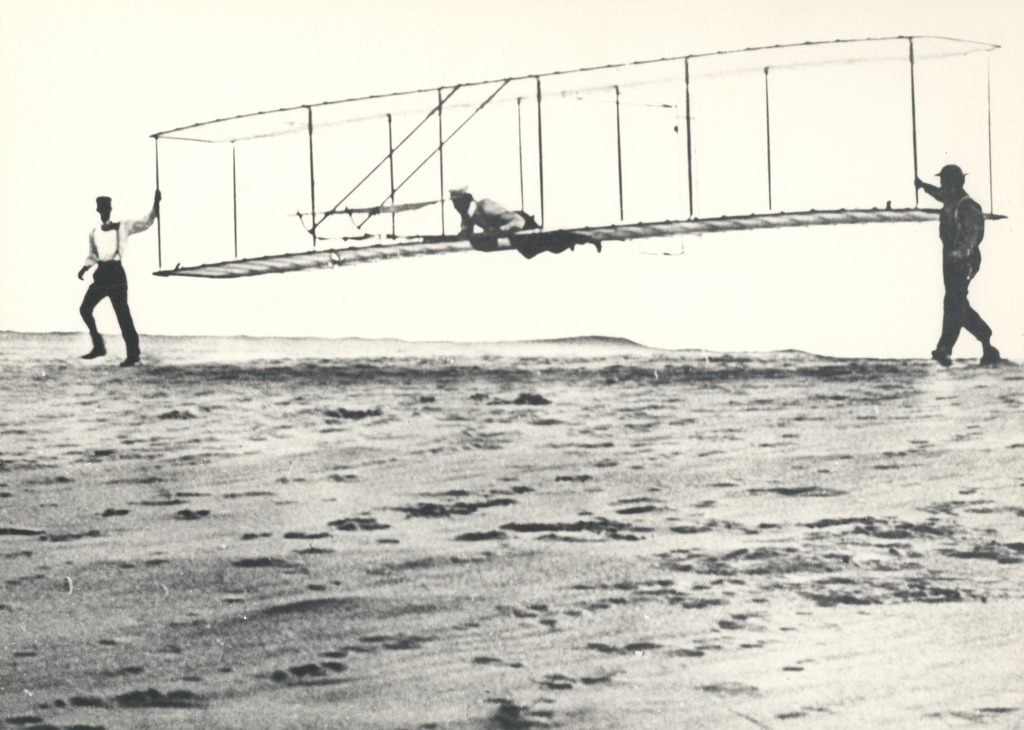 Wright Brothers' Glider Tests(1902)