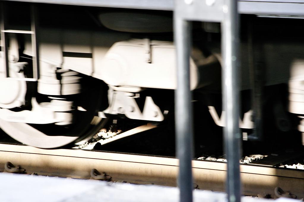 기차 바퀴.
