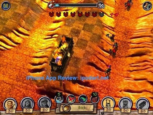 아이폰 아이패드 공용 디펜스 Monster Trouble HD