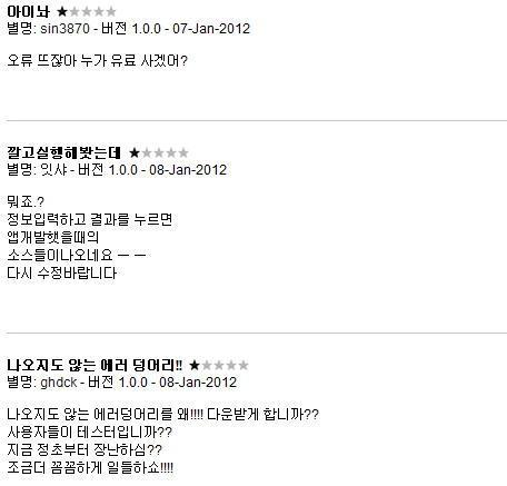2012 신년운세 토정비결