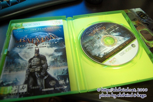 .. BATMAN ARKHAM ASYLUM GOTY EDITION