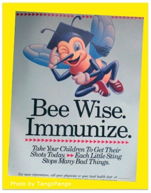 Bee Wise. Immunize.