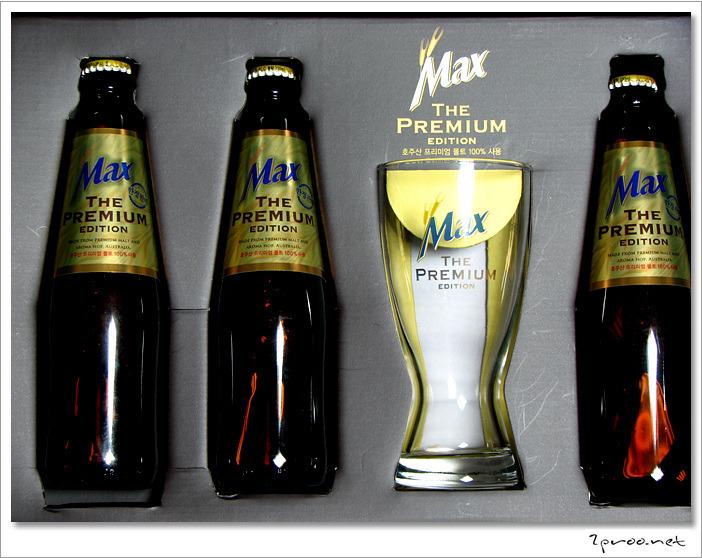 하이트맥주 맥스 더 프리미엄 에디션 Max The Premium Edition 박스 구성품