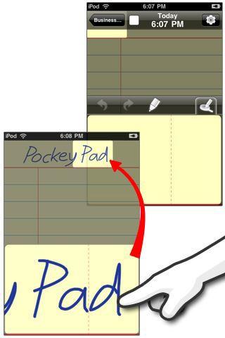 아이팟터치 아이폰 앱 포키패드-PockeyPad-