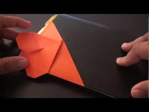 하트 삼각북마크 책갈피 종이접기 동영상