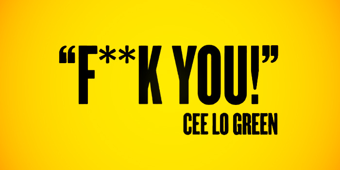 cee lo green, fuck you, cee lo green - Fuck you, 듣기, 가사