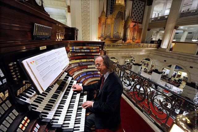 Wanamaker Grand Court Pipe Organ