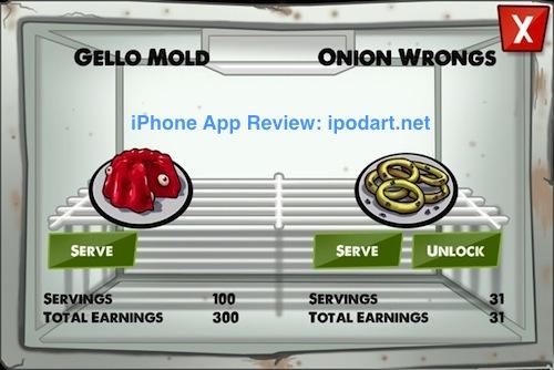 아이폰 아이패드 좀비 카페 경영 게임 Zombie Café