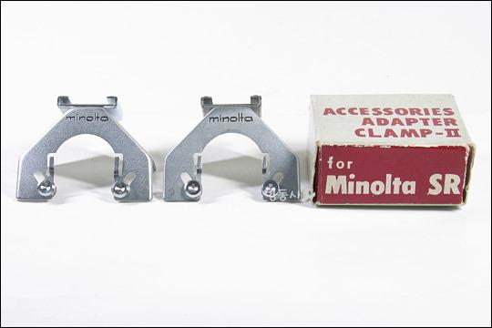 Minolta ACCESSORIES ADAPTER CLAMP-ll & V for Minolta SR