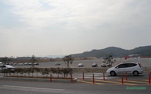 F1 코리아 GP 2010, 서킷 (KIC,영암), P1(1 주차장)