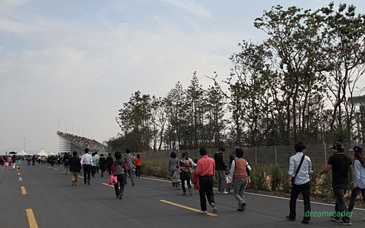 F1 코리아 GP 2010, 서킷 (KIC,영암), B 좌석
