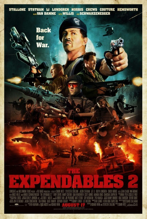 익스펜더블 2 (The Expendables 2)