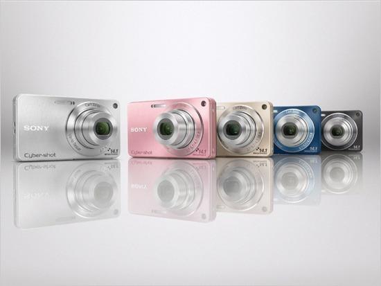 소니 디카 사이버샷 '스마트 디카' W350/380 출시