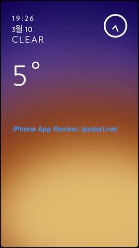 Solar 아이폰 날씨 일기예보 추천 앱