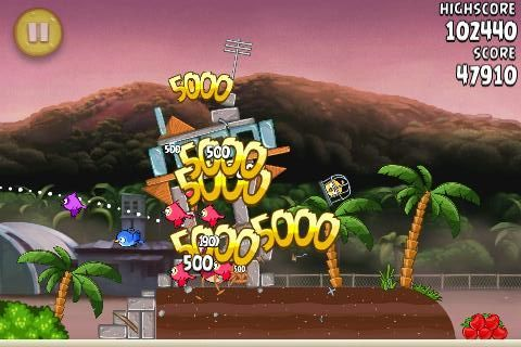 Angry Birds RIO Airfield Chase