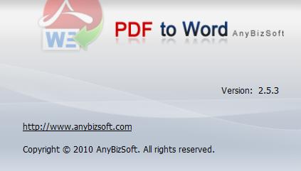 AnyBizSoft PDF to Word