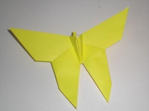 나비 곤충 종이접기 동영상