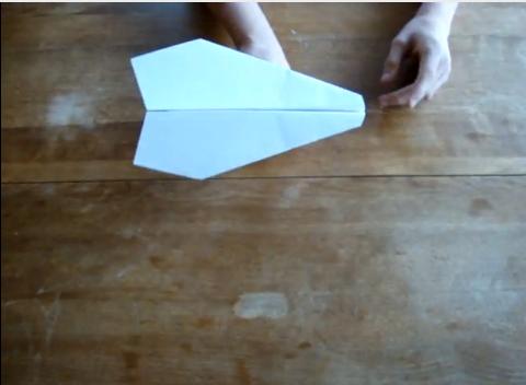 장거리 비행기 종이접기 동영상