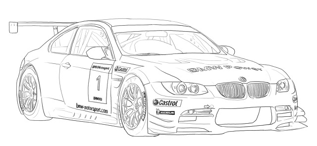 Younger Than Spring Time :: BMW M3 racing version 2009.
