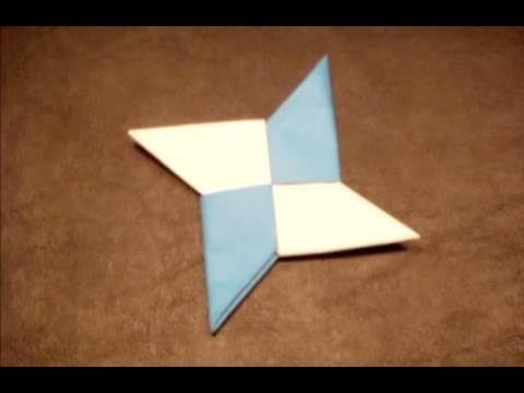 수리검/닌자 표창 종이접기 동영상
