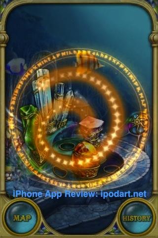 아이폰 아이팟터치 매치퍼즐 Call of Atlantis