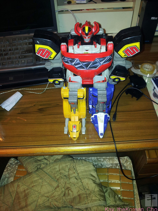 Mighty Morphin Power Ranger - DX Megazord