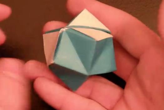 별풍선 종이공 접기 동영상