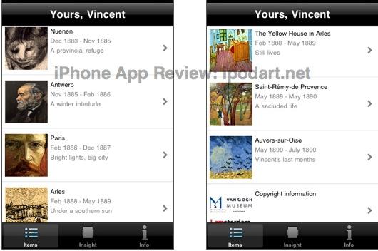 아이폰 반 고흐 vincent the letters of vincent van Gogh